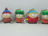 Vintage South Park 1998 Keychains Eric Cartman Kyle Stan Fun 4 All 2.5˜ inch