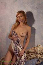 "0428 SEMI NUDE Beautiful Breast 4''x6"" model FINE ART PHOTOGRAPH blonde"