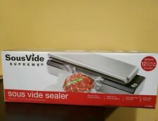 SousVide Supreme Food Vacuum Sealer -Free Shipping - 12 cooking pouches Included