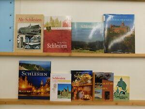 37 Bücher Bildbände Schlesien schlesische Geschichten Anekdoten u.a.