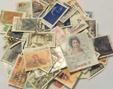 Lot of 100 nice used Canadian stamps issued before 1984