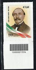ITALIA 2012 LUIGI C.FARINI/MEDICINE/POLITICIAN/PRIME MINISTER CODICE A BARRE