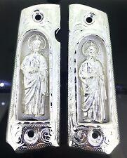 1911 SAN JUDAS ST. JUDE GUN GRIPS FIREARM GRIPS CACHAS FITS COLT SPRINGFIELD