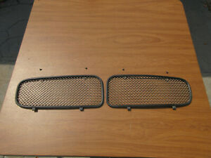 98-03 Jaguar XJR LEFT & RIGHT Wire Mesh Radiator Front Grill Grille Inserts X308