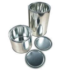 10 pots de 1L  fer avec couvercle contenant pour peinture auto APP