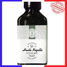 Huile de Nigelle BIO 50ml, Cumin noir - Soin 100% Naturel: peau, cheveux...