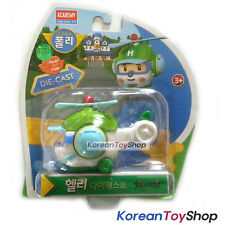 Robocar Poli HELLY Diecast Metal Figure Toy Car Helicopter Academy Genuine