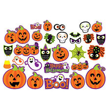 30 Haunted Halloween Scary Fun Pumpkin Ghost Cat Party Cutouts Decorations