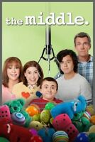 The Middle The Complete Season 8 Series Eight Eighth Region 4 New DVD
