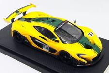 Modellini statici di auto da corsa verde mclaren scala 1:43
