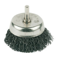Rotary Steel Wire Cup Brush 50mm Rotary Brush Paint Remove Power Drill 6mm Shank