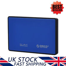 "ORICO 2.5"" inch USB3.0 External Hard Drive Enclosure Case Caddy for SATA SSD/HDD"