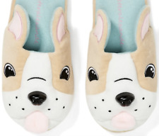 Peter Alexander Size Medium Slippers Dogs Winter Womens Ladies Soft Home Shoes