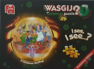 Wasgij Christmas 7 A Christmas Stuffing! 1000 piece puzzle