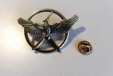 Hunger Games Gold Bronze Katniss Mockingjay Pin Brooch Replica Prop
