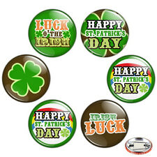 "St. Patrick's Day 1.25"" Pinback Button BADGE SET Novelty Pins Irish Gift Paddy's"