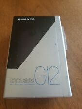 Sanyo Stereo Cassette Player G12 Parts Only !