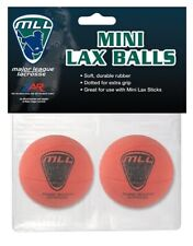 New A&R Mll Major League Lacrosse Pack of 2 Mini Lax Sponge Balls