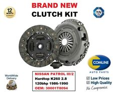FOR NISSAN PATROL III/2 Hardtop K260 2.8 120bhp 1986-1990 CLUTCH KIT 30001T8094