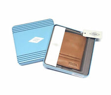 FOSSIL Men's Wallet WATTS BI-FOLD WITH FLIPVID COLOR COGNAC NEW IN BOX NIB $48