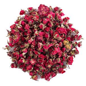 Dried Edible Red Rose Buds Loose Leaf Tea