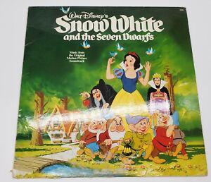 Vintage Disney Snow White and the Seven Dwarfs Soundtrack Disneyland Records