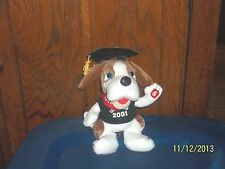 NEWS CHANNEL 5 OFFICIAL MASCOT NEWS HOUND GRADUATION 2001 PUPPY DOG PLUSH