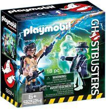 9224 Splenger y fantasma viejo Cazafantasmas playmobil Ghostbusters