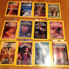 1998 National Geographic Magazine Complete Year 12 Issues