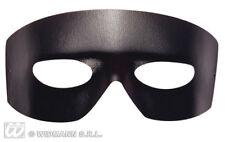 Faux Leather Caballero Eyemask Eye Mask Zorro Halloween Fancy Dress