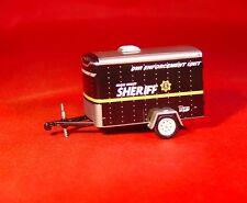 GL SHERIFF DWI ENFORCEMENT UTILITY TRAILER RUBBER TIRES LIMITED EDITION