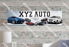 Personalized/Customized BMW Cars Name Poster Wall Art Decoration Banner