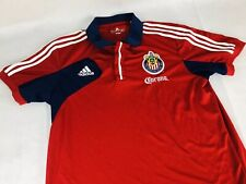 f9c88a9cc C.D Chivas USA Corona MLS Soccer Jersey Adidas Player Issued 2011 Size Large
