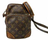 Auth LOUIS VUITTON Shoulder Bag Cross Body Amazon Monogram M45236 A-1207