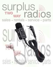 Icom HM153LS Surveillance Headset PTT Earphone ID31A ID31E ID31 ID51A ID51E ID51