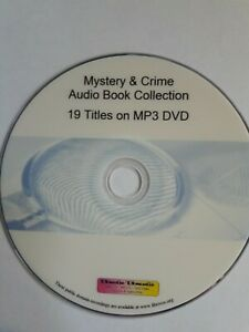 Huge Mystery &  Detective  Crime Audiobook Collection 80+Hrs Mp3 DVD
