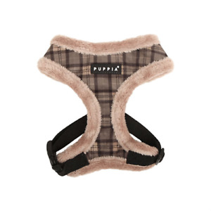 Puppia 'Barron' Soft Dog Harness - Grey