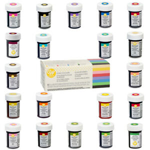 Wilton Icing Colour Edible Concentrated Food Colouring Gel Paste