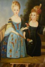Oil painting portrait of Marie Antoinette Versailles gay interest