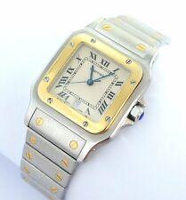 Cartier Santos Galbee Herren Uhr Stahl/Gold 187901 BOX Anleitung