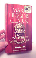 Mary Higgins Clark cassette tapebook - On the Street Where You Live