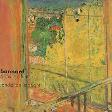 PIERRE BONNARD DANS SA LUMIERE CATALOGUE EXPOSITION FONDATION MAEGHT 1975 TBE