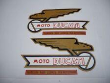 Adhesivos Ducati 250 DeLuxe, Deposito (ambos lados).