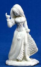 1x VILLAGEOIS CATIN - BONES REAPER figurine miniature jdr d&d rpg strumpet 77086