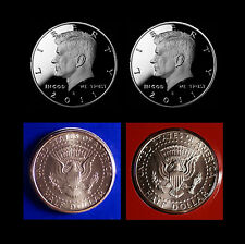 2011 P+D+S+S  Kennedy Half Dollar Mint Silver & Clad Proof Set of Four