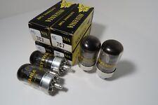 Matched Quad 7C7 NOS NIB Tested HiFi Amp Preamp Stereo Ham Radio Vacuum Tube #1