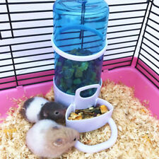 Pet Food Drink Dispenser Bowl for Animal Hamster Hedgehog Automatic Feeder Water