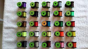 "Flos, /""Uni-Products/"" Kit #19 Thread Gift Idea.Fly Tying Flies Fly Fishing"