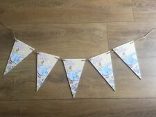 Disney Dumbo Handmade wooden hanging Bunting  Plaque Decoupaged My 1st Birthday