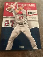 2020 Topps Series 2 Player of the Decade #MT-4 Mike Trout - Angels